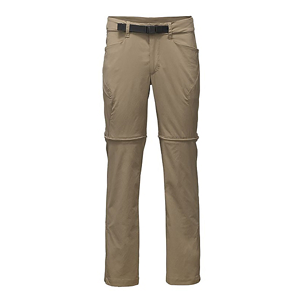 The North Face Mens Straight Paramount 3.0 Convertible Pants (Previous Season), Dune Beige, 600