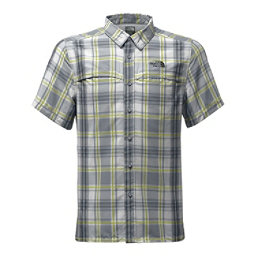 The North Face Vent Me Short-Sleeve Mens Shirt, Mid Grey Plad, 256