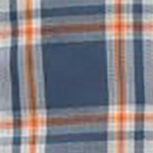 The North Face Vent Me Short-Sleeve Mens Shirt, Shade Blue Plaid, colorswatch30