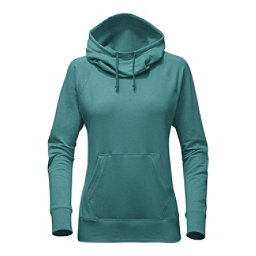 The North Face Long Sleeve TNF Terry Hooded Top, Bristol Blue Heather, 256
