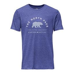 The North Face Mascot Tri-Blend Slim T-Shirt, Brit Blue Heather, 256