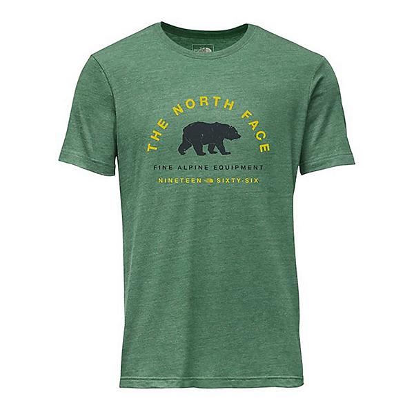 The North Face Mascot Tri-Blend Slim T-Shirt, Somke Pine Heather, 600