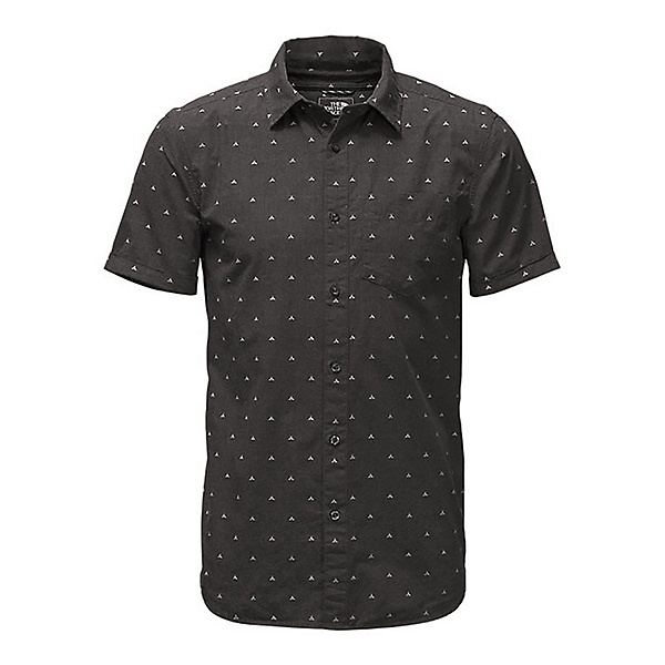 The North Face Bay Trail Jacquard Mens Shirt (Previous Season), Weathered Black Heather Tent, 600