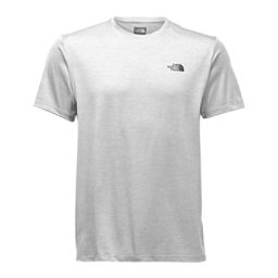The North Face Hyperlayer Flash Dry Short Sleeve Crew Mens T-Shirt, TNF Light Grey Heather, 256
