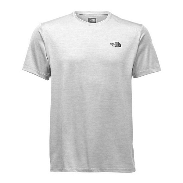 The North Face Hyperlayer Flash Dry Short Sleeve Crew Mens T-Shirt, TNF Light Grey Heather, 600