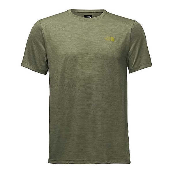 The North Face Hyperlayer Flash Dry Short Sleeve Crew Mens T-Shirt, Grape Leaf Heather, 600