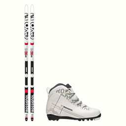 Rossignol Evo First 49 IFP X-1 FW Cross Country Ski Package 2018, , 256