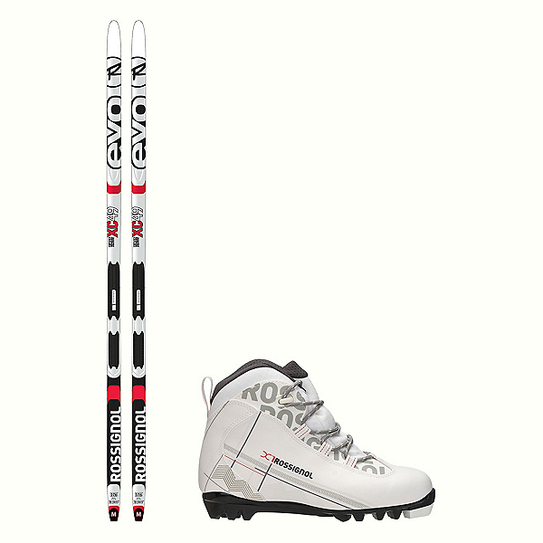 Rossignol Evo First 49 IFP X-1 FW Cross Country Ski Package 2018, , 600