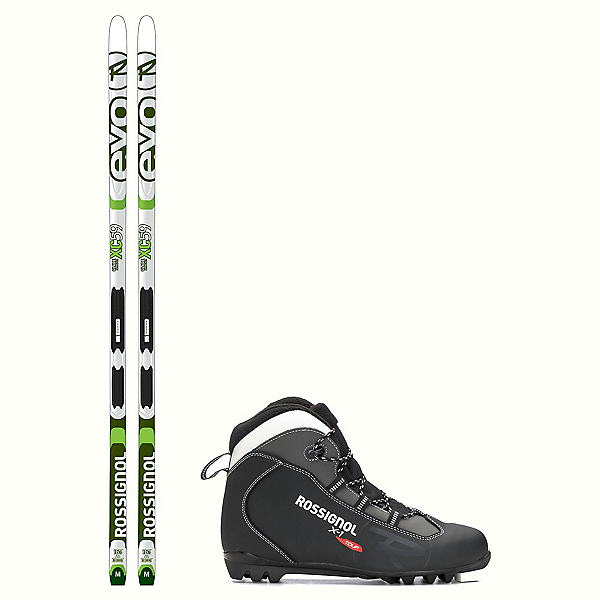 Rossignol Evo Glade 59 IFP X-1 NNN Cross Country Ski Package 2018, , 600