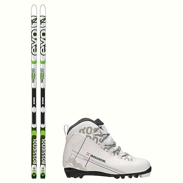 Rossignol Evo Glade 59 IFP X-1 FW Cross Country Ski Package, , 600