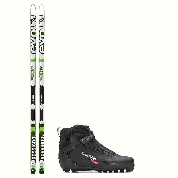 Rossignol Evo Glade 59 IFP X-3 NNN Cross Country Ski Package, , 600