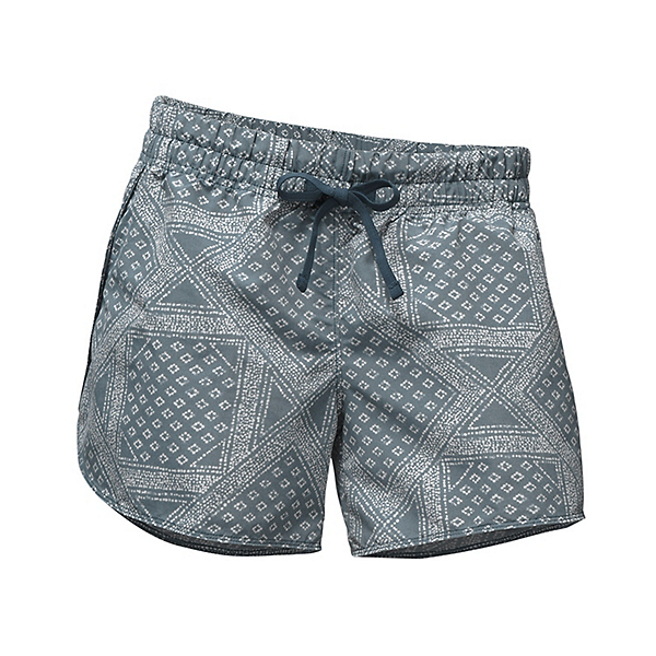 The North Face Class V Womens Shorts (Previous Season), Blue Wing Teal Bandana Print, 600