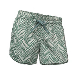 The North Face Class V Womens Shorts, Bristol Blue Chevron Print, 256