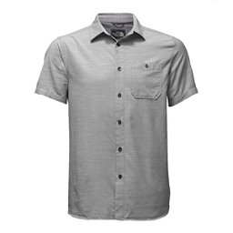 The North Face Baker Short Sleeve Mens Shirt, Mid Grey, 256