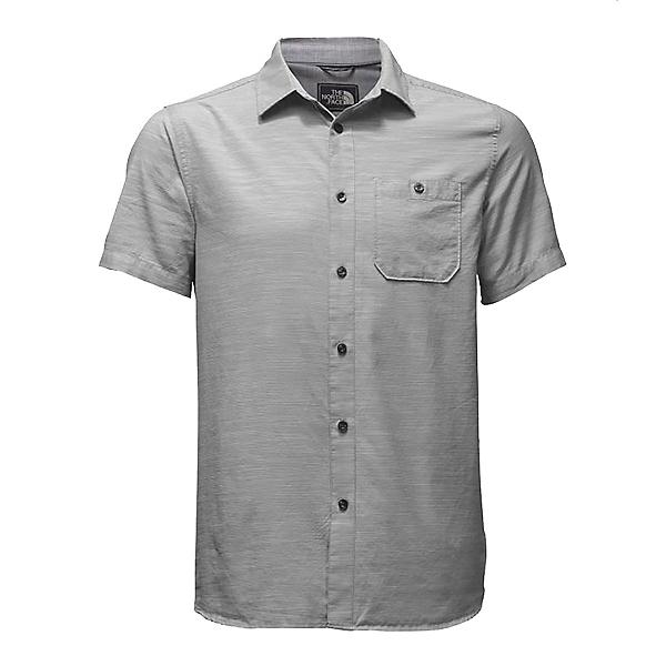 The North Face Baker Short Sleeve Mens Shirt (Previous Season), Mid Grey, 600