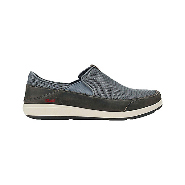 OluKai Makai Mens Shoes, Charcoal-Charcoal, 600