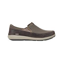 OluKai Makai Mens Shoes, Mustang-Dark Wood, 256