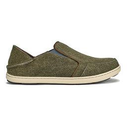 OluKai Nohea Lole Mens Shoes, Caper-Charcoal, 256