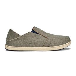 OluKai Nohea Lole Mens Shoes, Clay-Trench Blue, 256