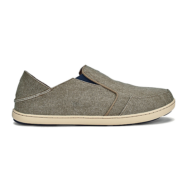 OluKai Nohea Lole Mens Shoes, Clay-Trench Blue, 600