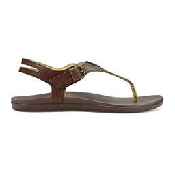 OluKai Eheu Womens Sandals, Kona Coffee-Kona Coffee, 256