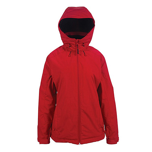 Powder Room Phantom Womens Insulated Snowboard Jacket, Spicy Red, 600
