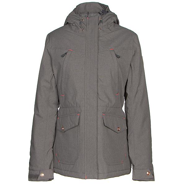 Powder Room Becca Womens Soft Shell Jacket, Tornedo Grey, 600