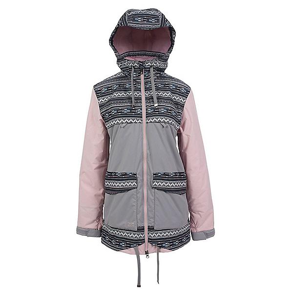 Powder Room Village Womens Insulated Snowboard Jacket, , 600
