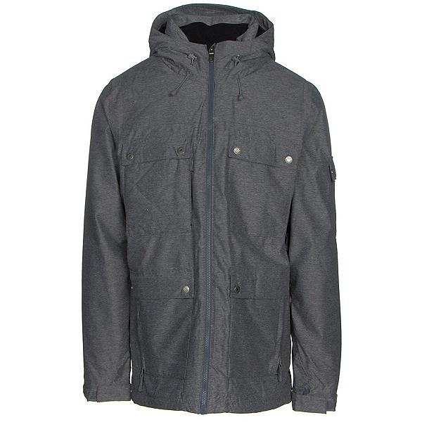 Ripzone Alpha Mens Insulated Ski Jacket, Black, 600
