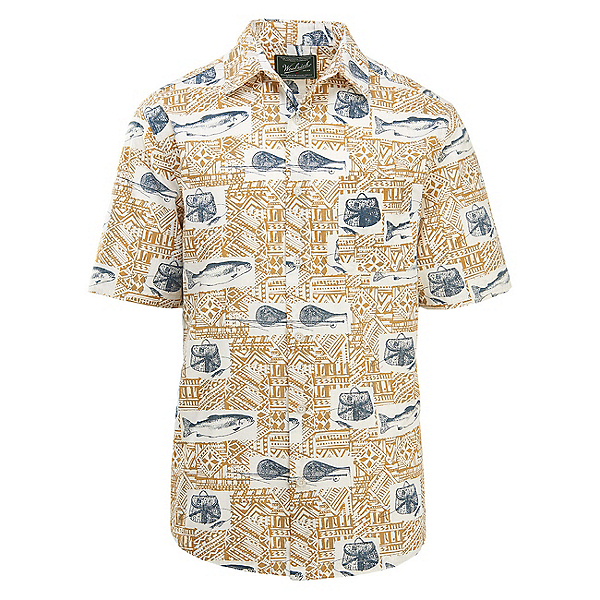 Woolrich Eco Rich Walnut Springs Printed Ripstop Mens Shirt, , 600
