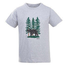Woolrich Hayes Run Heather Mens T-Shirt, Black Bear, 256
