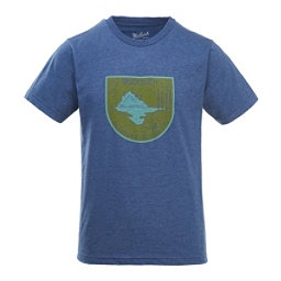 Woolrich Hayes Run Heather Mens T-Shirt, Coastal Camp, 256