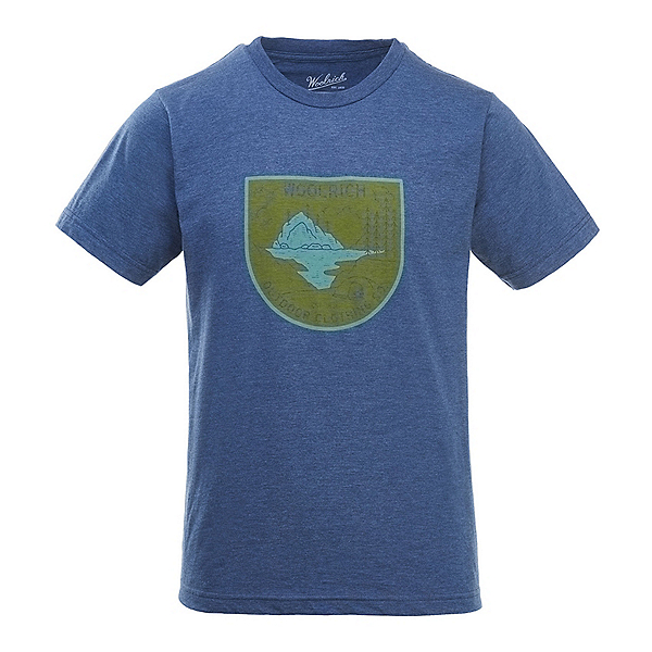 Woolrich Hayes Run Heather Mens T-Shirt, , 600
