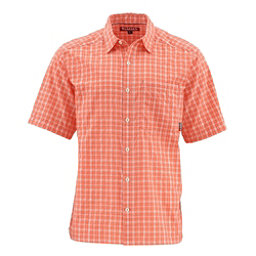 Simms Morada Short Sleeve Mens Shirt, Hibiscus, 256