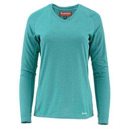 Simms Drifter Tech Long Sleeve Womens Shirt, Aqua, 256