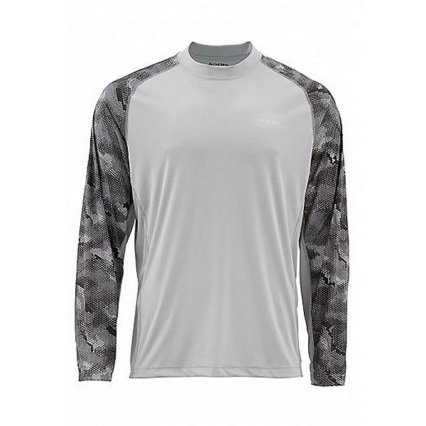 Simms Solarflex Crewneck Mens Shirt, , 600