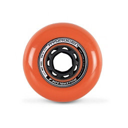 Rollerblade Hydrogen Urban 80mm 85A Inline Skate Wheels - 8 Pack 2018, Burnt Orange, 256