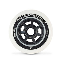 Rollerblade Supreme 110mm 85A Inline Skate Wheels - 8 Pack 2018, , 256