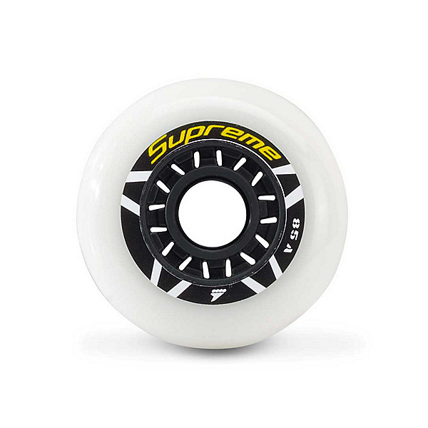 Rollerblade Supreme Urban 80mm 85A Inline Skate Wheels - 8 Pack 2018, , 600