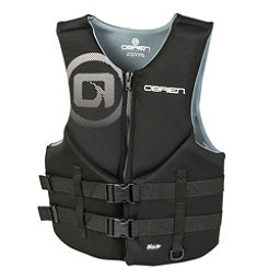 O'Brien Traditional Neoprene Adult Life Vest 2018, Black, 256