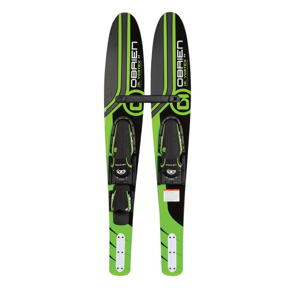 O'Brien Vortex Junior Combo Water Skis With Jr X7 Adjustable Bindings 2020 im test