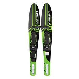 O'Brien Vortex Junior Combo Water Skis With Jr X7 Adjustable Bindings 2018, , 256