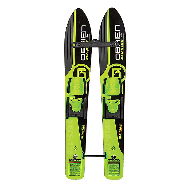O'Brien All Star Trainers Junior Combo Water Skis With Standard Bindings 2020, , 600