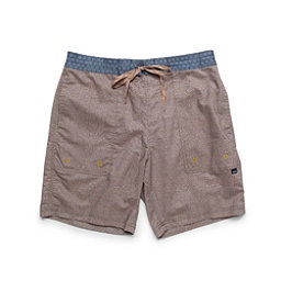 Howler Brothers Sayulita Mens Board Shorts, Oatmeal, 256