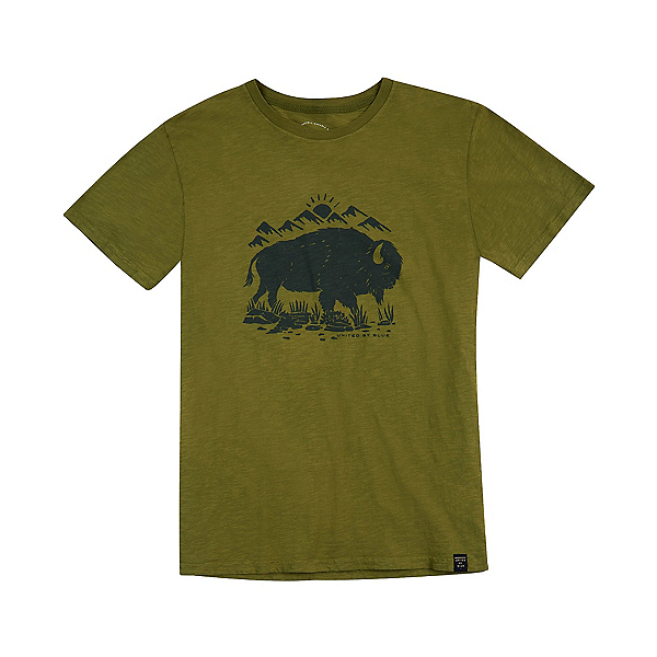 United By Blue Mountain Bison Mens T-Shirt, , 600