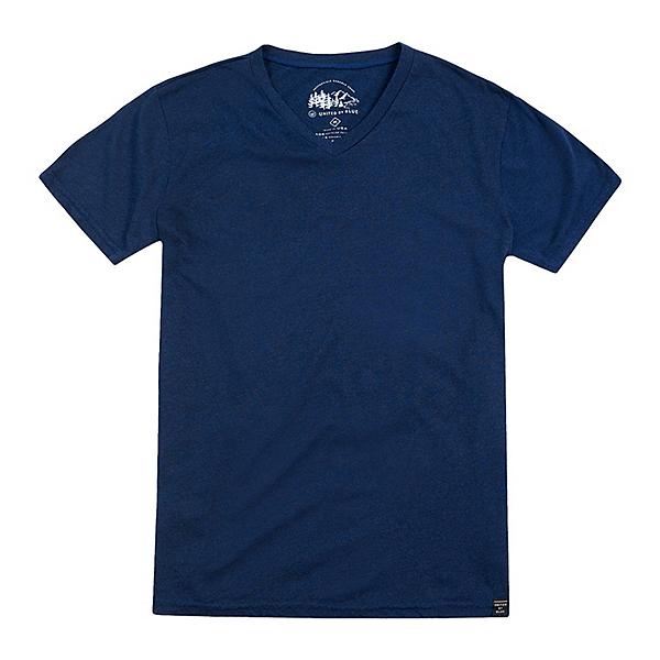 United By Blue Standard V-Neck Mens T-Shirt, Navy, 600