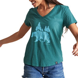 United By Blue Pine Bear Womens T-Shirt, , 256