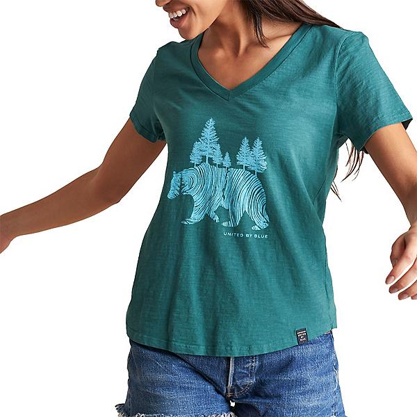 United By Blue Pine Bear Womens T-Shirt, , 600