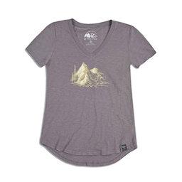 United By Blue Peaks Womens T-Shirt, , 256