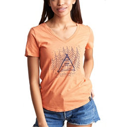 United By Blue Cabin and Canoe Womens T-Shirt, , 256
